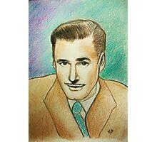 Portrait of Errol Flynn Photographic Print