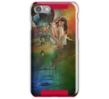 The bursting of girls' dreams  iPhone Case/Skin