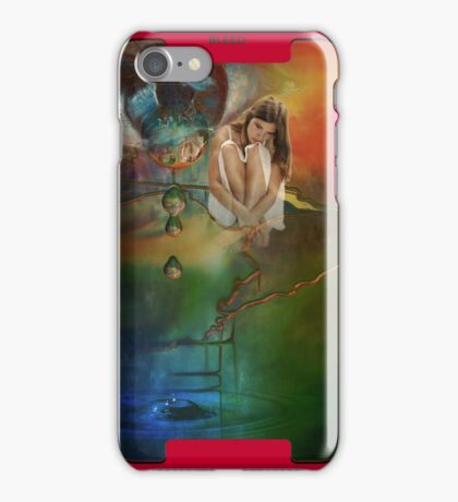The bursting of girls' dreams  iPhone Case/Skin