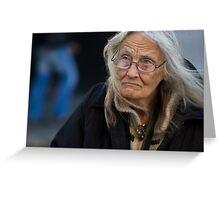 Occupy LSX ~  Huntress Greeting Card