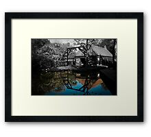 Colorized house  Framed Print
