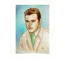 Portrait of Guy Madison Art Print