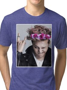 G-Dragon Flower Crown Tri-blend T-Shirt
