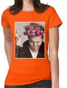 G-Dragon Flower Crown Womens Fitted T-Shirt