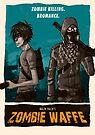 Zombie Waffe Poster by Edward B.G.