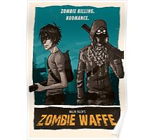 Zombie Waffe Poster Poster