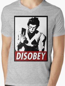 Hisoka Disobey Mens V-Neck T-Shirt