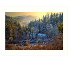 A Touch Of Snow Art Print