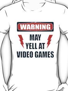 Gamer Warning 2.0 T-Shirt