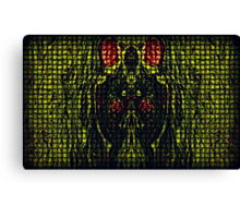 Inside the mind of madness Canvas Print