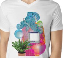 OCTOPAINT.exe Mens V-Neck T-Shirt
