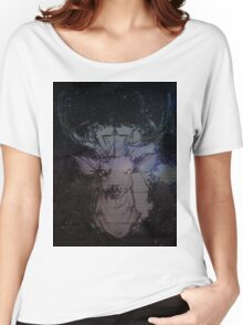 Glitch Deer Women's Relaxed Fit T-Shirt