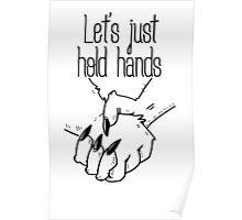 hold hands (asexual pride) Poster
