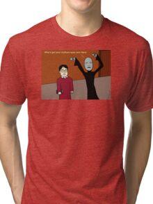 Voldemort Taunts Harry Tri-blend T-Shirt