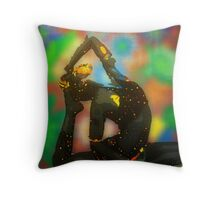 kapotasana digital - 2011 Throw Pillow