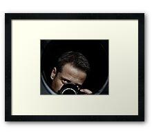 Paparazzo Framed Print