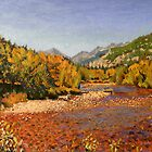 "Landscape Painting - Colorado Mountain Stream II - 11"" x 14"" Oil by Daniel Fishback"