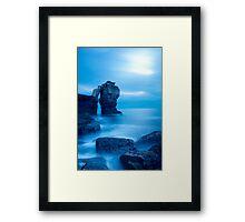 Pulpit Rock.  Framed Print