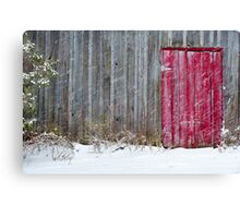 Winter Is Here 1 Canvas Print