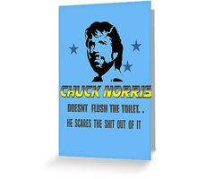 chuck be tough 3.  Greeting Card