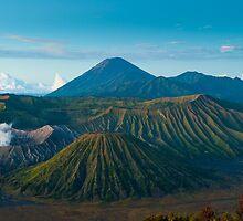 Bromo volcano at sunrise, Java, Indonesia by javarman