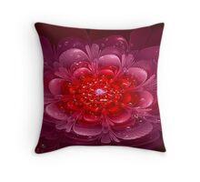 Shower Flower Throw Pillow
