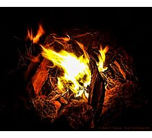 Campfire Memories Photographic Print