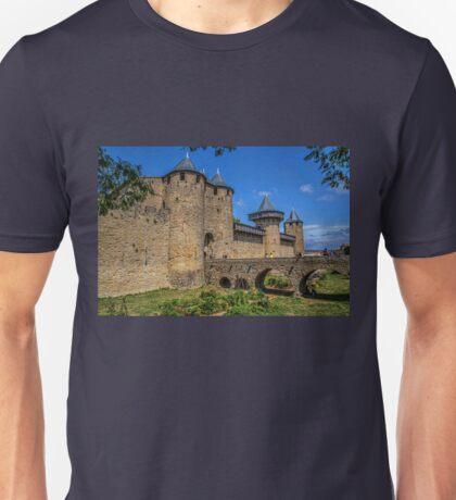 France. Carcassonne. Castle. Unisex T-Shirt