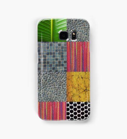 Texture Blocks Samsung Galaxy Case/Skin