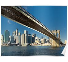 Brooklyn bridge, New York Poster