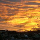 Sunset over Wellington by jezkemp
