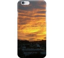 Sunset over Wellington iPhone Case/Skin
