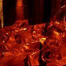 Glass of ice by jezkemp