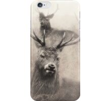 Stag Party After The Rut iPhone Case/Skin