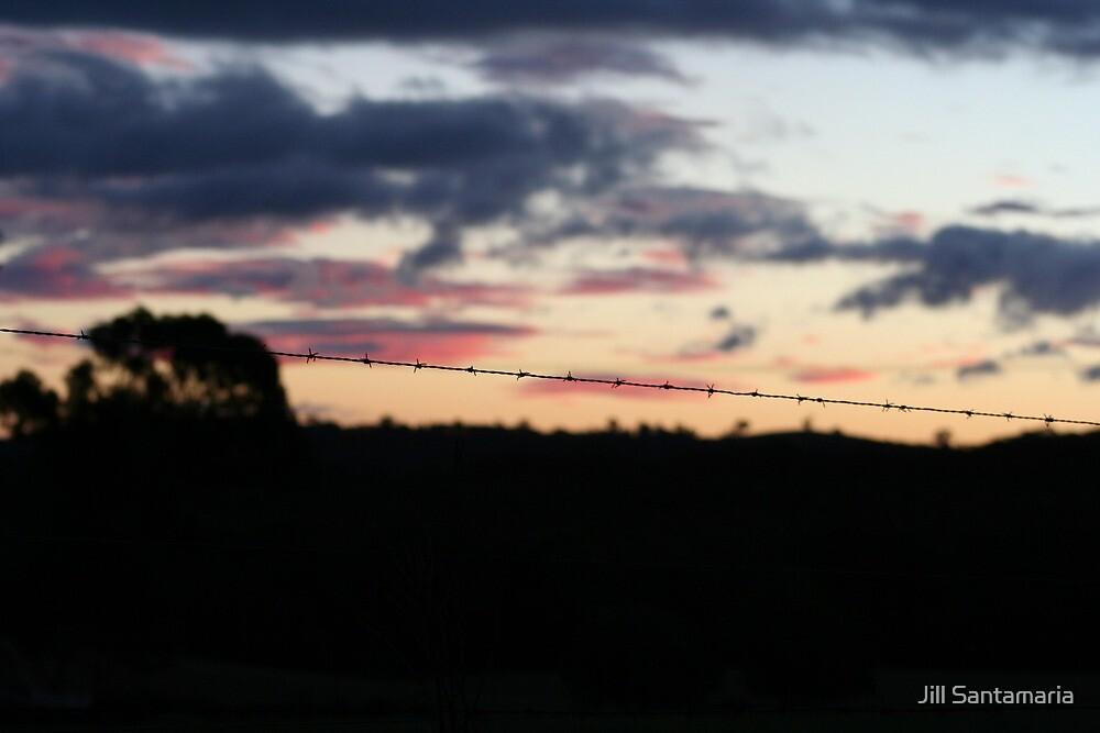 Country Sunset by Jill Santamaria