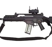 Automatic weapon G36 by fotorobs