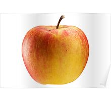Multicoloured apple. Poster