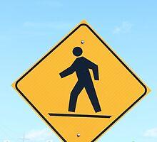 Crosswalk Sign by rhamm