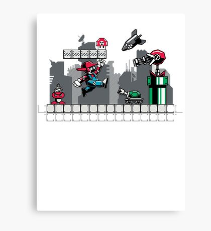 Mecha mario Canvas Print