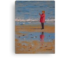 One Last Glorious Autumn Day Before Winter Canvas Print