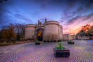 Nottingham Castle Sunset by Yhun Suarez