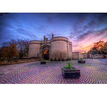 Nottingham Castle Sunset Photographic Print