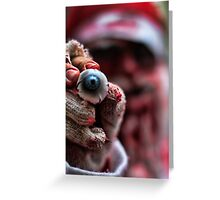 Santa is Watching You Greeting Card