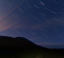 Campsie Star Trails (2) by Karl Williams