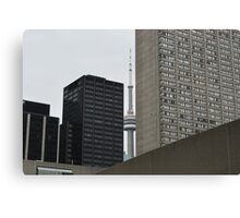 URBAN Building (Toronto)  Art - 2 Canvas Print