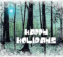 Happy Holidays - greeting card 3 by Scott Mitchell