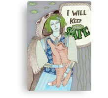 I Will Keep You Safe Canvas Print