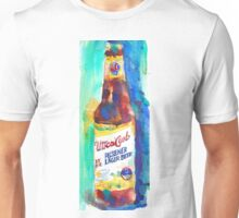 UTICA CLUB BEER Print from Original Watercolor Unisex T-Shirt