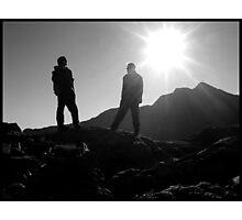 Snowdon Photographic Print