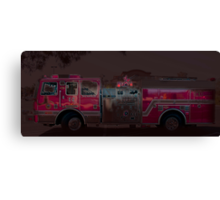It's a Fire Truck! Canvas Print